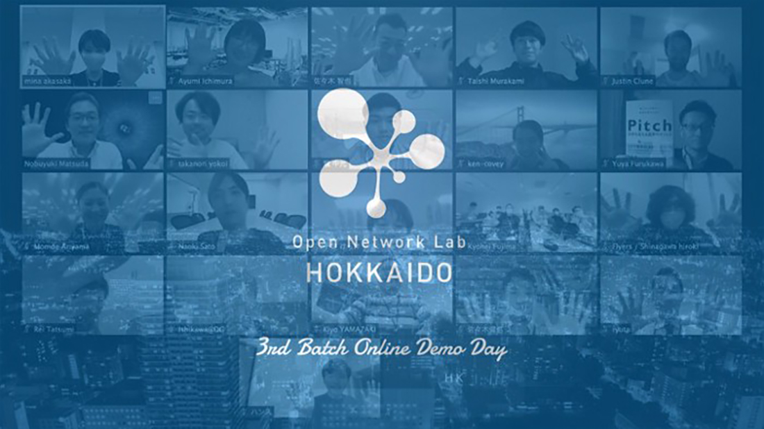 Open Network Lab HOKKAIDO 3rd Batch Online Demo Day report
